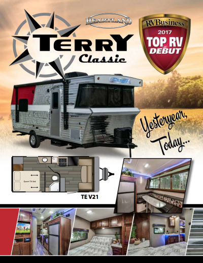 2018 Heartland Terry Classic RV Brochure Cover