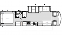 1998 Daybreak 3270 Floor Plan