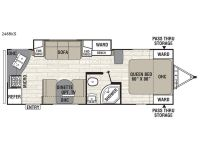 2013 Freedom Express 246RKS Floor Plan
