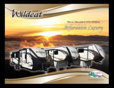 2017 Forest River Wildcat RV Brand Brochure Cover