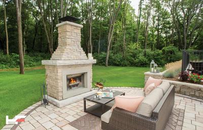 Belvedere Fireplace Kit