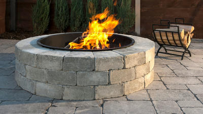 Sunset Fire Pit