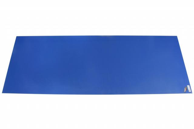 Filler Panel Hood DLM Chevron Blue Plastic