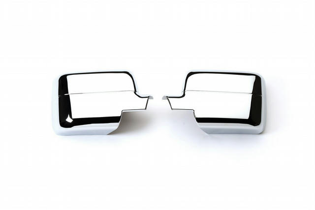 04- Ford F150 Chrome Mirror Covers