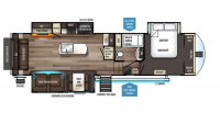 2020 Sabre 32DPT Floor Plan