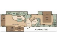 2008 Cameo 35SB3 Floor Plan