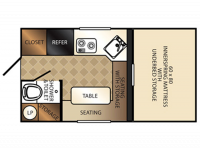 2014 Bronco B-1251 Floor Plan