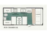 1994 Fun Chaser 22L Floor Plan