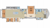 2018 Columbus 383FB Floor Plan