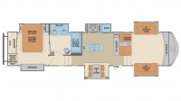2018 Columbus 389FL Floor Plan