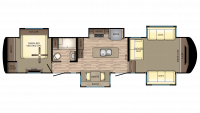 2019 Redwood 394FL Floor Plan