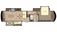 2019 Redwood 396RK Floor Plan