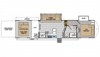 2019 XLR Thunderbolt 340AMP Floor Plan