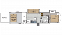 2019 XLR Thunderbolt 341AMP Floor Plan