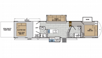 2018 XLR Thunderbolt 413AMP Floor Plan
