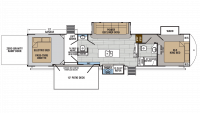 2019 XLR Thunderbolt 422AMP Floor Plan