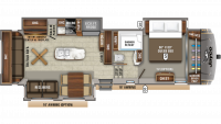 2019 Eagle 321RSTS Floor Plan