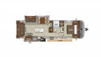 2019 Eagle HT 280RSOK Floor Plan