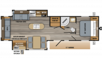 2019 Jay Flight 32RLOK Floor Plan