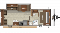 2019 Jay Flight SLX 265RLS Floor Plan