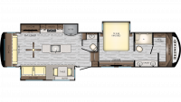 2019 Redwood 390MB Floor Plan