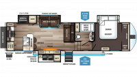 2019 Sabre 32SKT Floor Plan