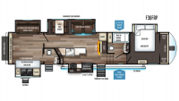 2019 Sabre 36FRP Floor Plan