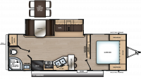 2020 Catalina Legacy Edition 243RBS Floor Plan