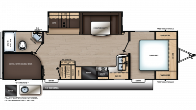 2020 Catalina Legacy Edition 273BHSCK Floor Plan Img