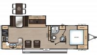 2020 Catalina Legacy Edition 283RKS Floor Plan