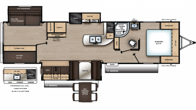 2020 Catalina Legacy Edition 333BHTSCK Floor Plan Img