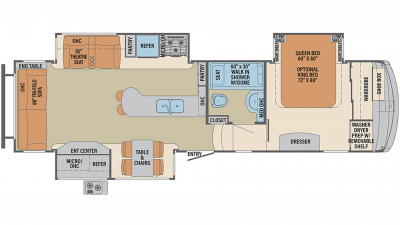 2020 Columbus 298RL Floor Plan Img