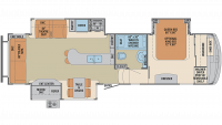 2020 Columbus 298RL Floor Plan