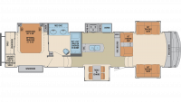 2020 Columbus 389FL Floor Plan