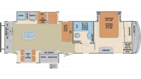 2020 Columbus Compass Series 297RKC Floor Plan