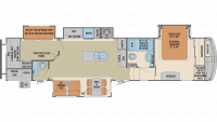 2020 Columbus Compass Series 374BHC Floor Plan