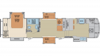 2020 Columbus Compass Series 386FKC Floor Plan