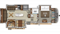 2020 Eagle 317RLOK Floor Plan