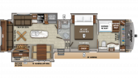 2020 Eagle 336FBOK Floor Plan