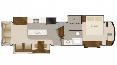 2020 Elite Suites 38KSSB4 Floor Plan Img