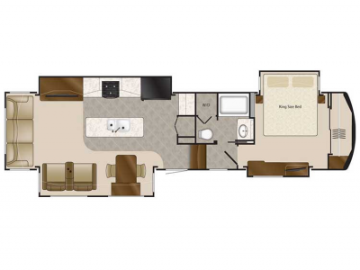 2020 Elite Suites 38RSSA Floor Plan Img