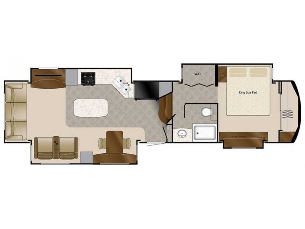 2020 Elite Suites 40KSSB4 Floor Plan Img