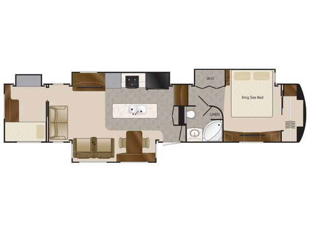 2020 Elite Suites 43 ATLANTA Floor Plan