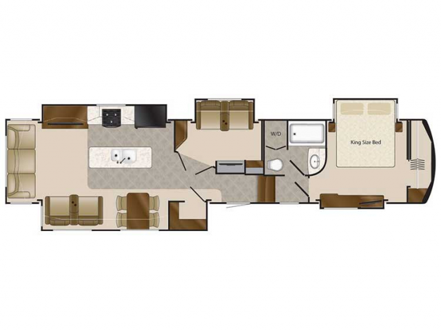 2020 Elite Suites 44 CUMBERLAND Floor Plan