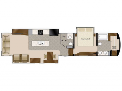 2020 Elite Suites 44 HOUSTON Floor Plan Img