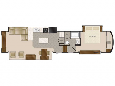 2020 Elite Suites 44 MEMPHIS Floor Plan Img