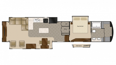 2020 Elite Suites 44 SANTE FE Floor Plan Img