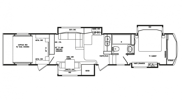 2020 Full House LX450 Floor Plan