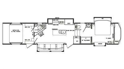 2020 Full House LX455 Floor Plan Img