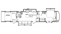 2020 Full House LX455 Floor Plan